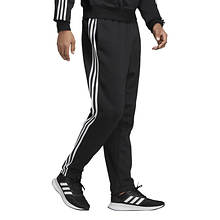 adidas Men's Essentials 3-Stripe Fleece Tapered Pant