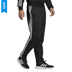 adidas Men's Essentials 3-Stripe Fleece Tapered Pant