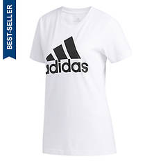 adidas Women's Basic Badge Of Sport Tee