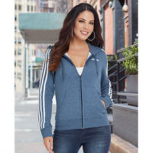 adidas Women's Essentials 3S Full-Zip Hoodie