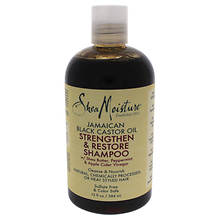 Shea Moisture Castor Oil Strengthen and Grow Shampoo