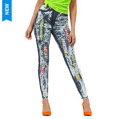 Multi-Colored Skinny Jean