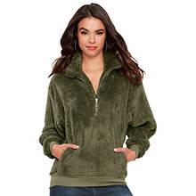 Sherpa Quarter Zip Pullover