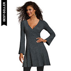 Sweater Wrap Dress