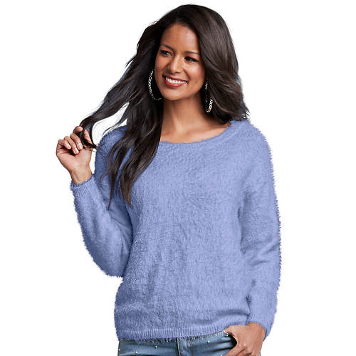 Faux Mohair Sweater