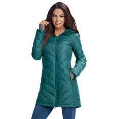 Columbia Women's Heavenly Long Hooded Jacket