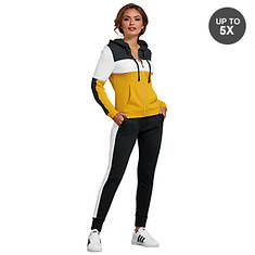 Women's Colorblock Jogger Track Set