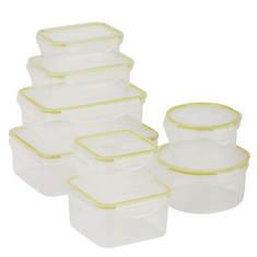 Honey Can Do Locking 16-Piece Food Storage Set