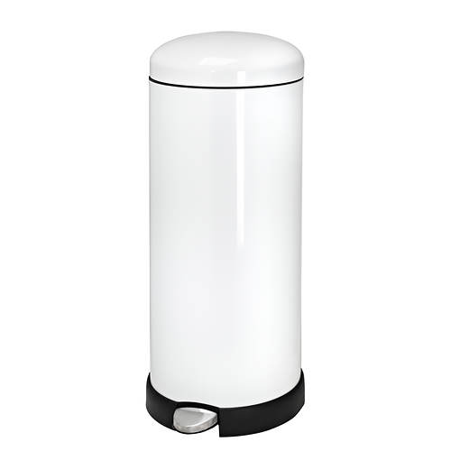 Honey Can Do Retro Kitchen 30-L Soft-Close Trash Can