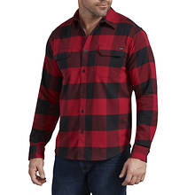 Dickies Men's LS Flex Flannel Woven Shirt
