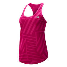 New Balance Women's Printed Accelerate Tank V2