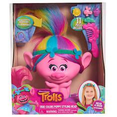 Trolls Poppy Style Head