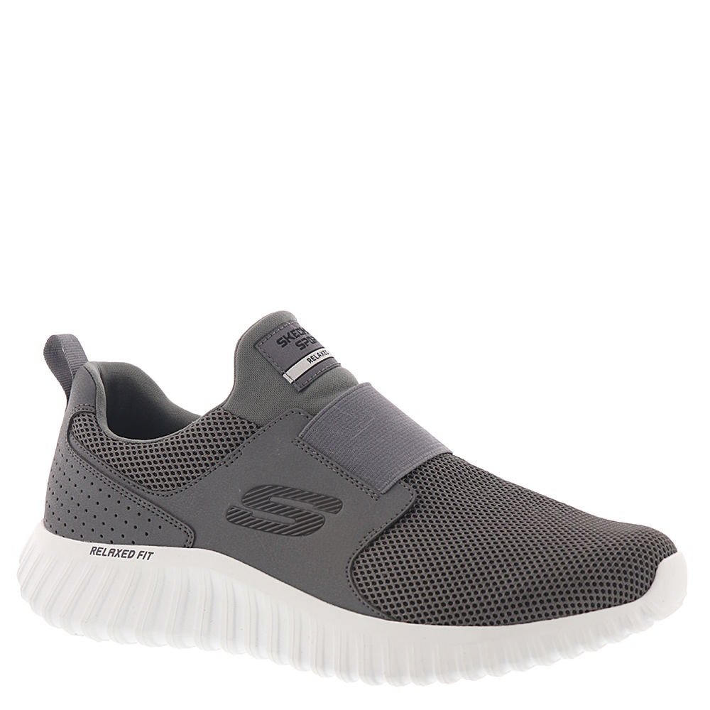 *This lightweight mesh and synthetic sport shoe provides the ultimate grab-and-go convenience thanks to the elastic instep panel and easy slip-on design *Air-Cooled Memory Foam® cushioned comfort footbed *Flexible traction sole