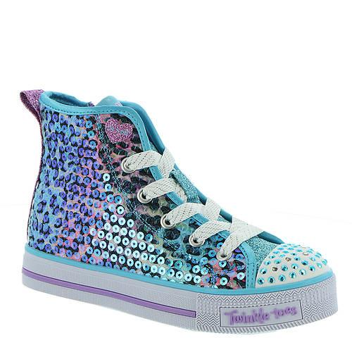 Skechers Twinkle Lite Leopard (Girls' Toddler-Youth)
