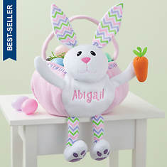 Personalized Bunny Easter Basket