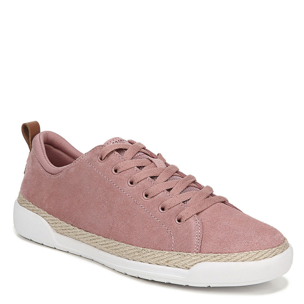 *This expertly designed sneaker is a true standout for style and comfort *Suede leather upper in a casual sneaker style with a round toe *Lace-up front with back pull tab and cushioned-comfort collar *Espadrille-inspired jute wrap accent *Surround Fit insole for a comfortable cushioned fit *Lightweight construction *Durable traction outsole