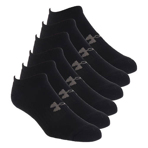 Under Armour Training Cotton No Show 6-Pack