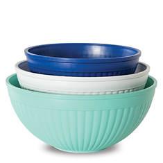 Nordic Ware 3-Piece Prep & Serve Mixing Bowl Set
