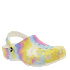 Crocs™ Classic Tie Dye Graphic Clog (Women's)