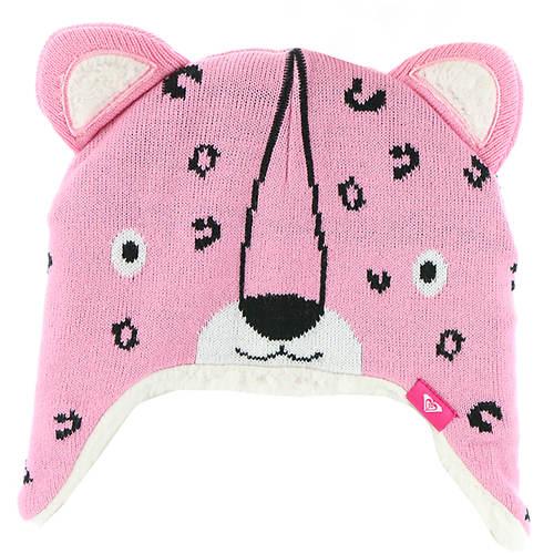 Roxy Snow Girls' Leopard Tennie Beanie