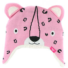 Roxy Snow Girls' Leopard Tennie Beanie