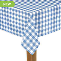 """Buffalo Check Tablecloth 60""""x104"""""""