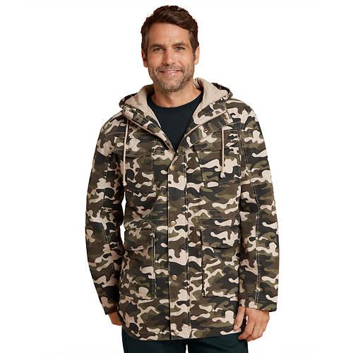Hooded Camo Light Jacket