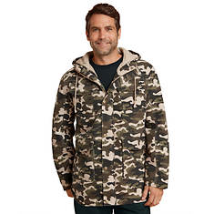 Hooded Camo Light Jacket