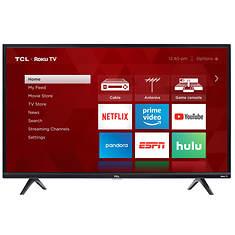 "TCL 32""-Class Roku Smart LED 780p HDTV"