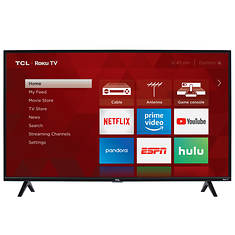 "TCL 40"" Class Roku Smart LED 1080p HDTV"