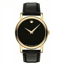 Movado Leather Quartz Watch