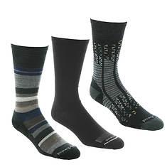 Smartwool Men's Trio 1 3-Pack Crew Socks