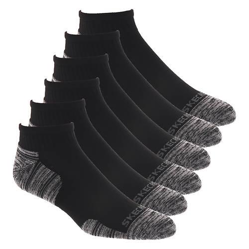 Skechers Men's S112090 Quarter 6-Pack Socks