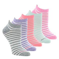 Skechers Women's S108410 Low-Cut 5-Pack Socks