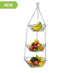 3-Tier Hanging Fruit Basket