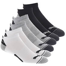 PUMA Men's P113431 Low Cut 6 Pack Socks