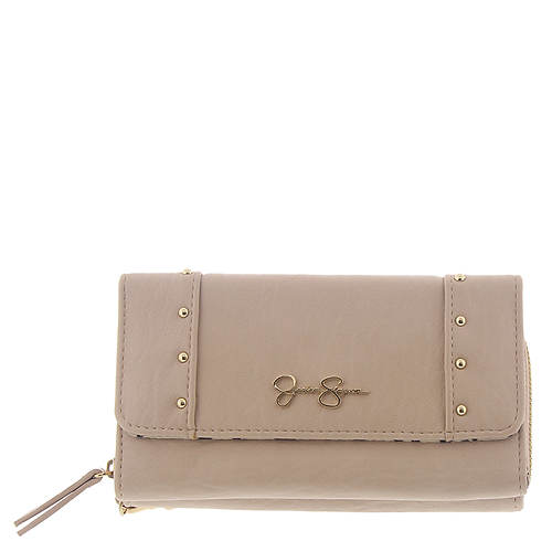 Jessica Simpson Misha Front Flap w/Zip Back Wallet