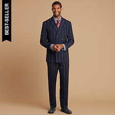 Double-Breasted Suit Set