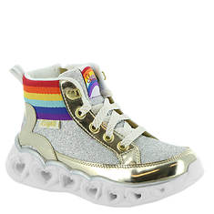 Skechers Heart Lights-Rainbow Diva 20272L (Girls' Toddler-Youth)