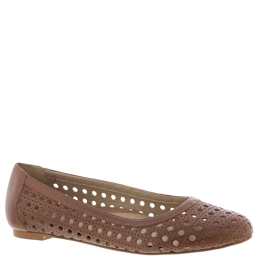 *A woven perforated look adds texture to this anything-but-basic flat *Leather upper *Slip-on styling *Lightly cushioned footbed *Athletic heel cup for extra comfort *1/4\\\