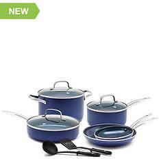Blue Diamond 10-Piece Cookware Set