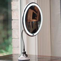 NuBrilliance My Flexible Illuminated Mirror