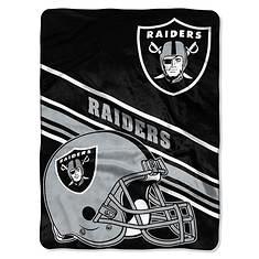 "NFL 60""x 80"" Slat Raschel Throw"