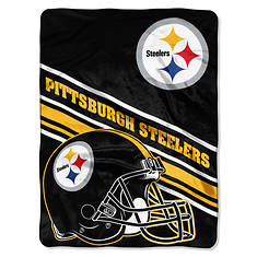 "NFL 60""x 80"" Slat Raschel Throw"