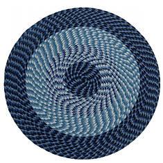 Alpine Braided Round Rug - Opened Item