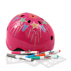 Customizable Dry-Erase Helmet - Large