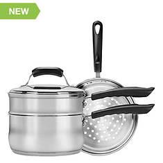 Range Kleen 3-Quart Saucepan with Double Boiler