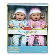 Melissa & Doug Mine to Love Luke & Lucy