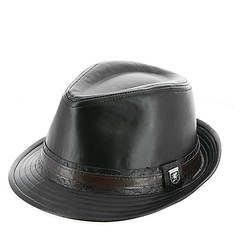 Leather Fedora