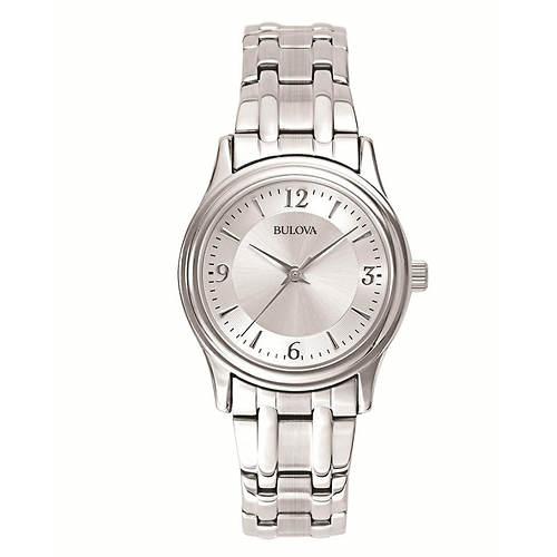 Bulova Stainless Steel Bracelet Watch